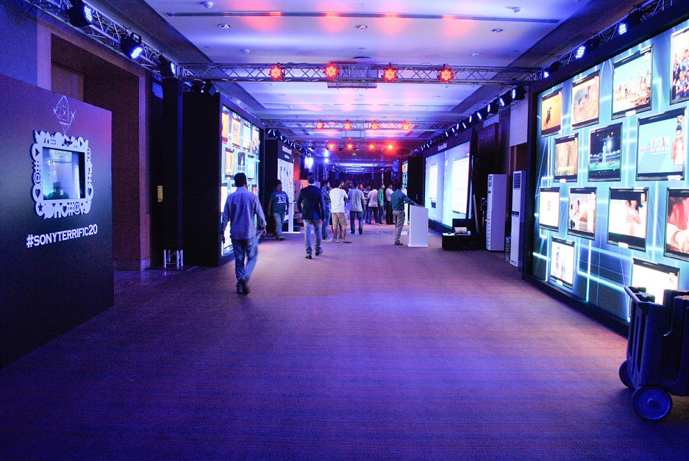 Fountainhead Entertainment Syncs Lighting and Music at #SonyTerrific20