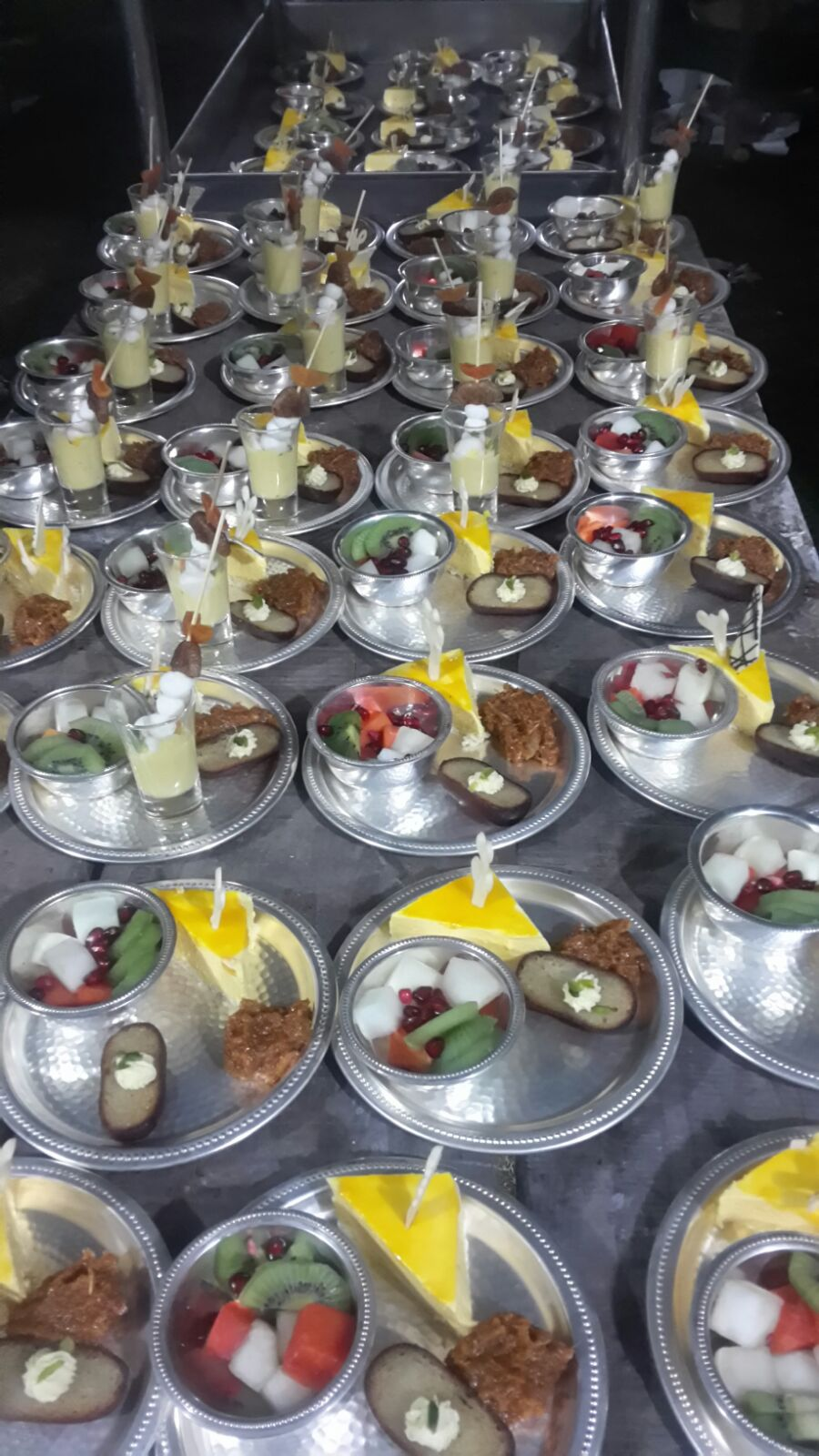 SelectED serves a 4 course State Banquet style Dinner at Indo African Summit 2015