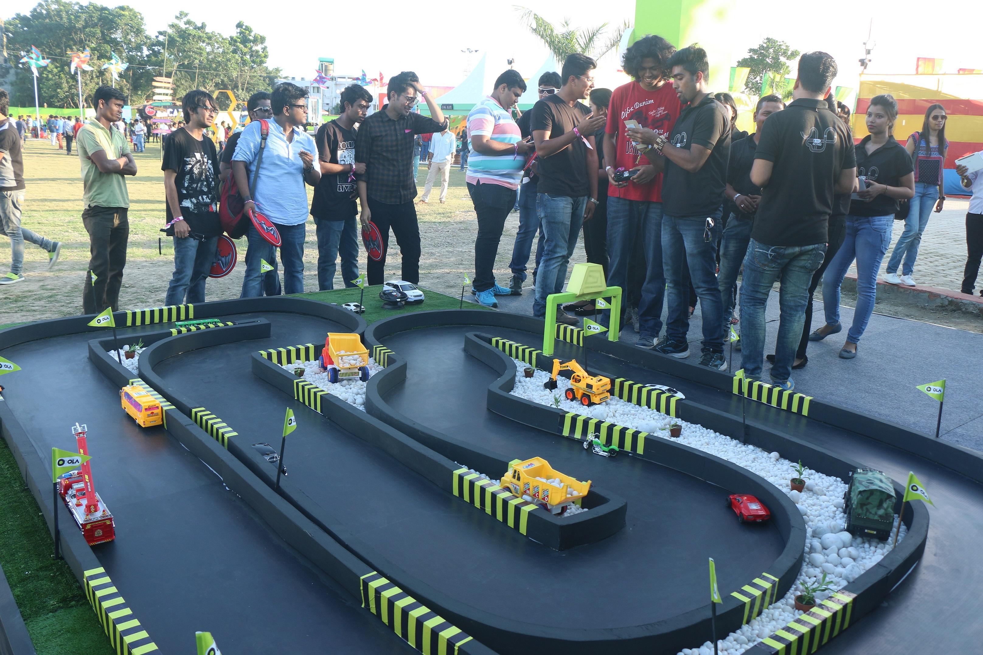 #NeedforSpeed: See How Toast Events Executed Ola Racing @ NH7 & Sunburn Concerts