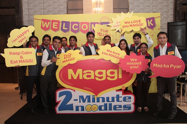 Showtime Welcomes Back Nestle MAGGI With A Grand Re-Launch In Delhi