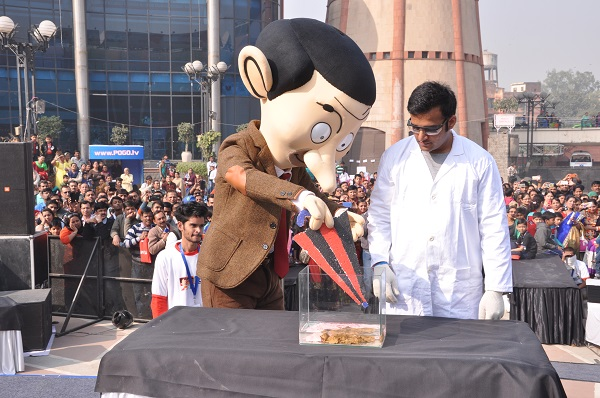 Candid Creates Mangalyaan Inspired Annual Event for POGO