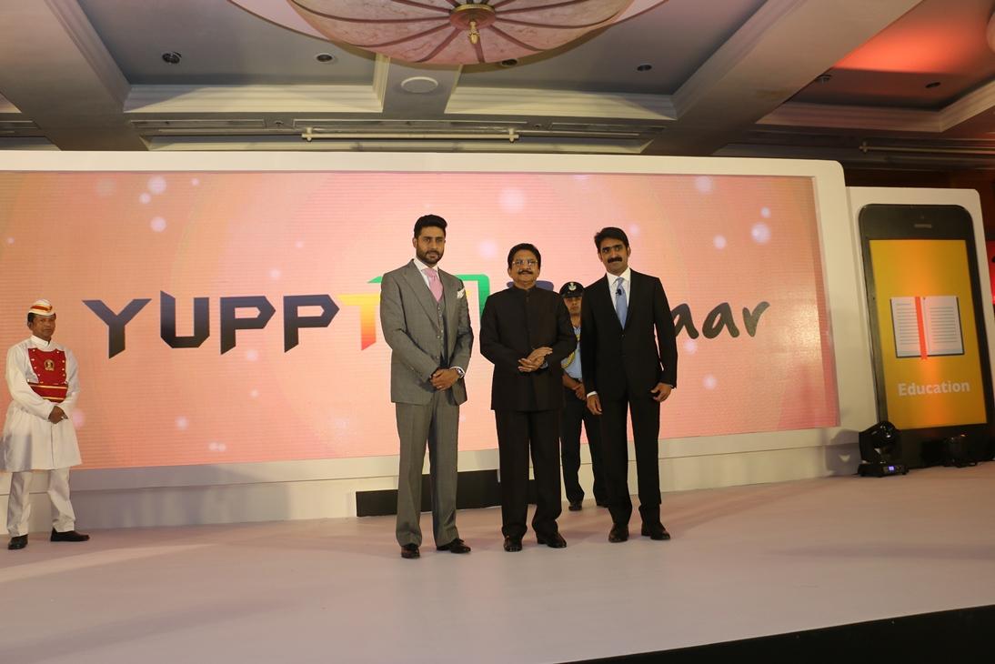 Abhishek Bachchan & C Vidyasagar Rao launch YuppTV Bazaar in Mumbai