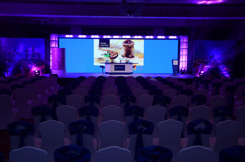 Fountainhead Creates a Unique Experience at the Multi-City Launch of Tata Coffee Grand