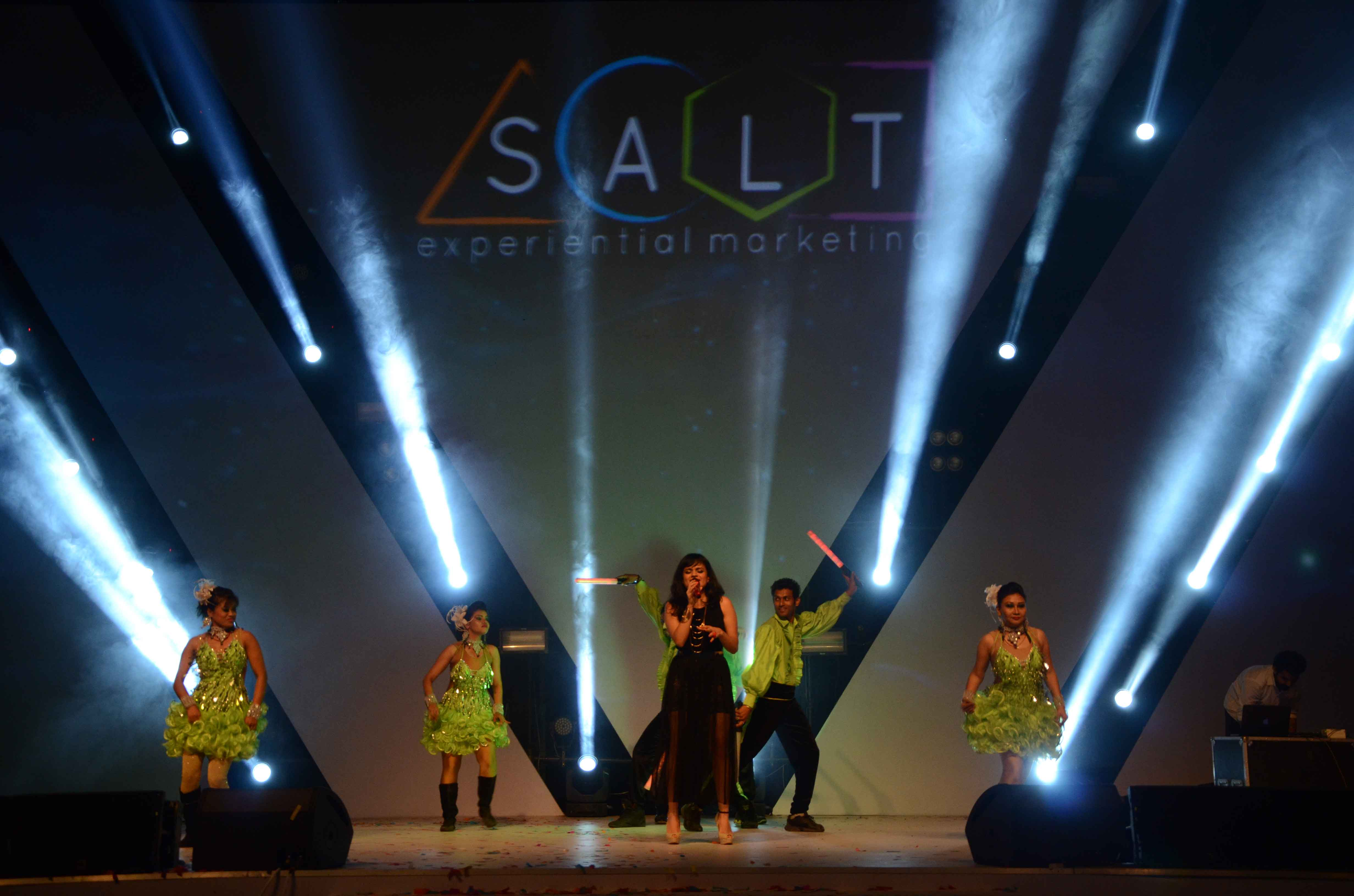 Salt Experiential Marketing celebrates its first Annual Day!