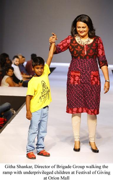 Orion Mall organizes a fashion show for lesser-privileged children