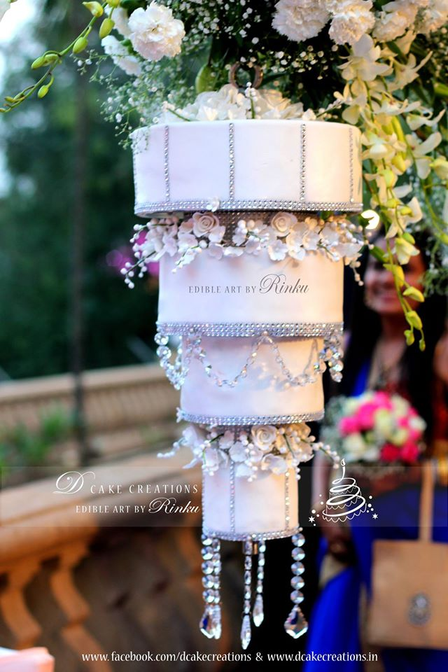 making wedding cake stands chandelier cakes make their way to india india news 17077