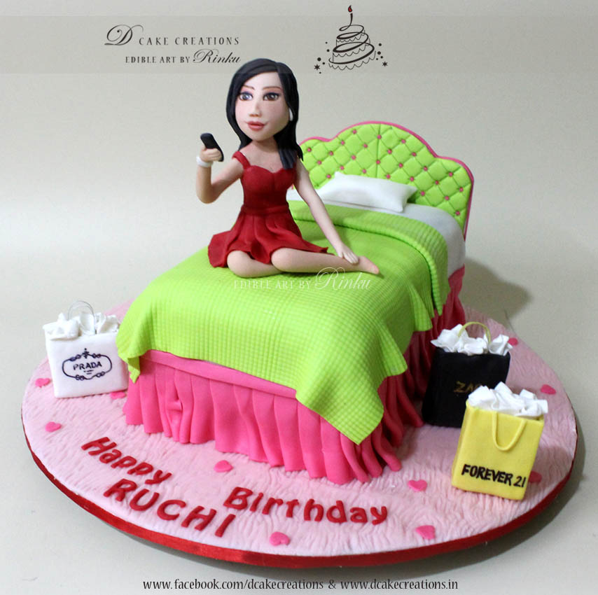 Stunning Customized Cakes With Handcrafted Edible Figurines By D Cake Creations