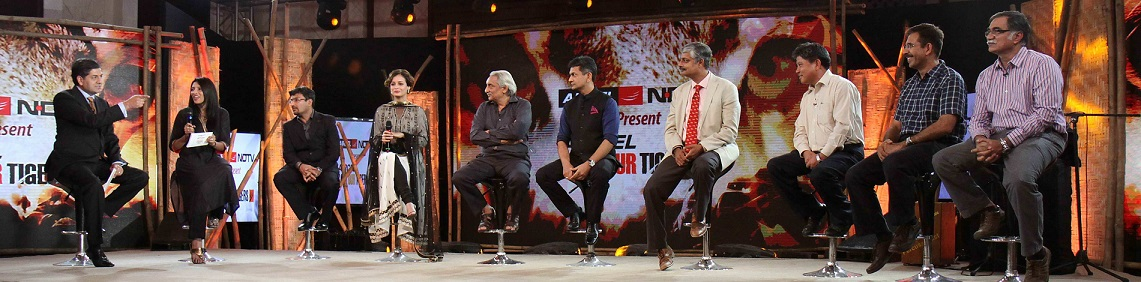 NDTV and Aircel observe 'World Tiger Day'