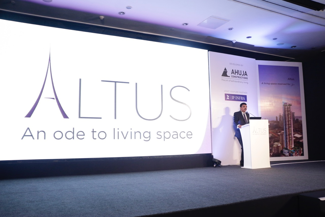 Altus, launches amidst challenging weather forecast for the Indian real-estate sector