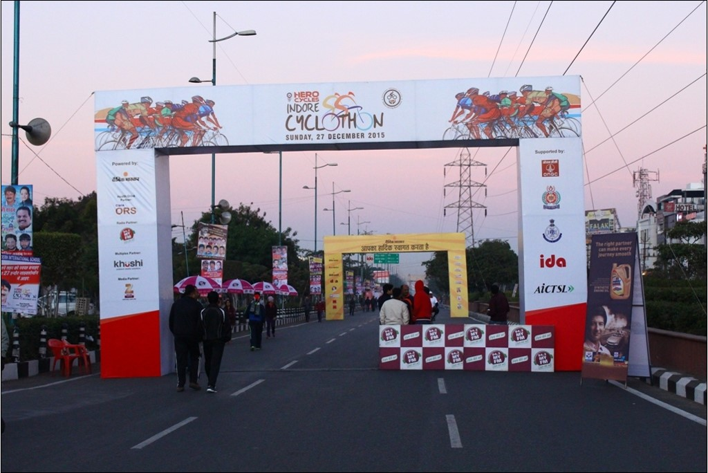 Fusion Events Manages Hero Indore Cyclothon 2015