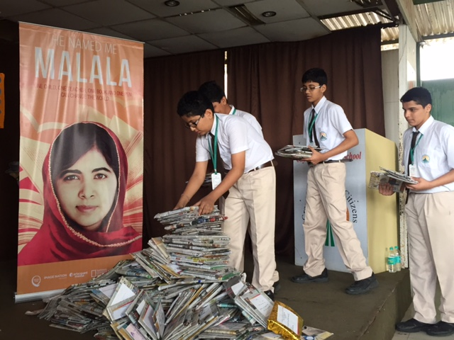 Victor Tango Activates Stand #withMalala Campaign in India; 20K Kids Reached in 3 Major Cities