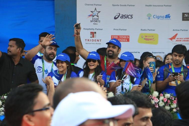 Photo Feature: MPower Signs Kickstart Entertainment for Standard Chartered Mumbai Marathon
