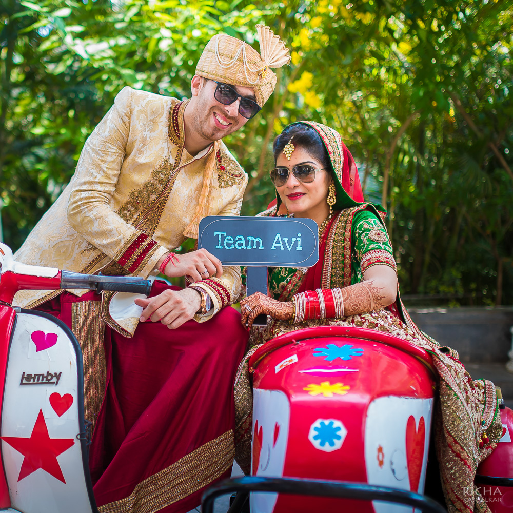F5 Weddings Executes Mumbai Wedding For Dubai Based Bride & Australian Groom!