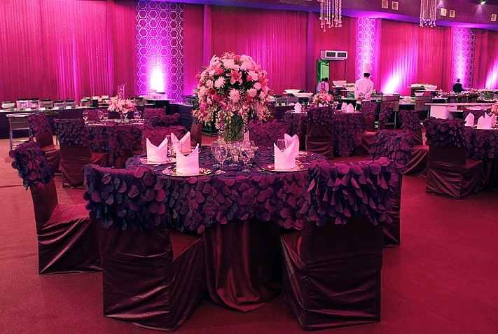 A Pink N Purple Floral Bonanza By FNP Weddings