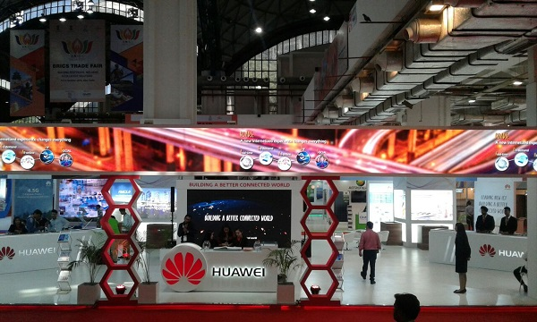 Vibgyor Brand Services Manages and Executes Huawei Exhibition at BRICS Trade Fair 2016