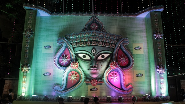 TBB adds Grandeur to Durga Puja Festivities in Kolkata with Installations Made out of Dalda Bottles