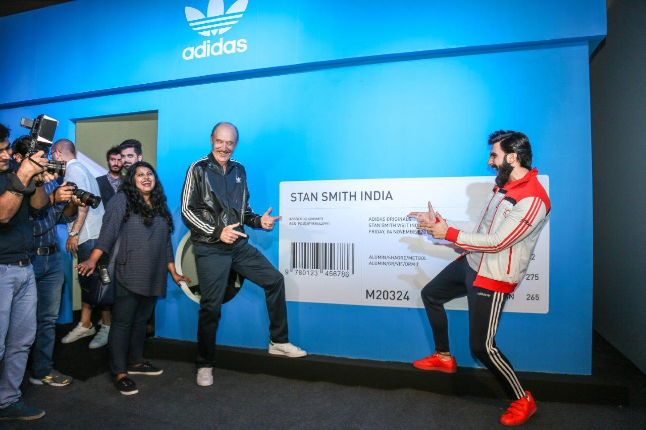 adidas Celebrates Originality with Stan Smith & Ranveer Singh