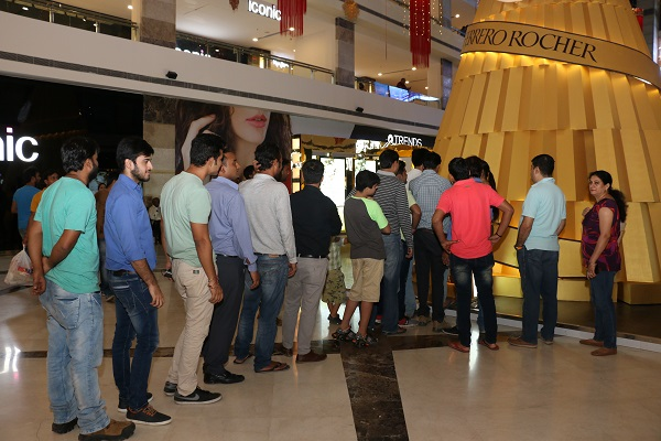 Ferrero Rocher Ropes in Pilcrow To Create Delightful Customer Experiences at Ambience Mall Gurgaon