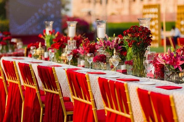 Umaid Bhawan Palace Wedding by Devika Narain & Co Sees Exquisite Decor & Unique Design Elements