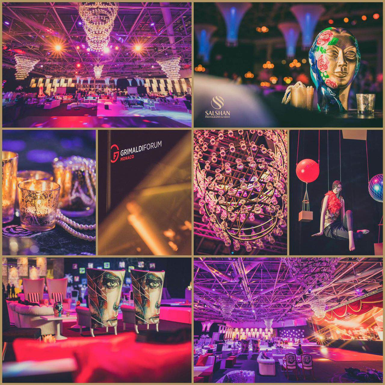 A Round-Up Of  The Mammoth Monaco Wedding By WDC by Vandana Mohan!