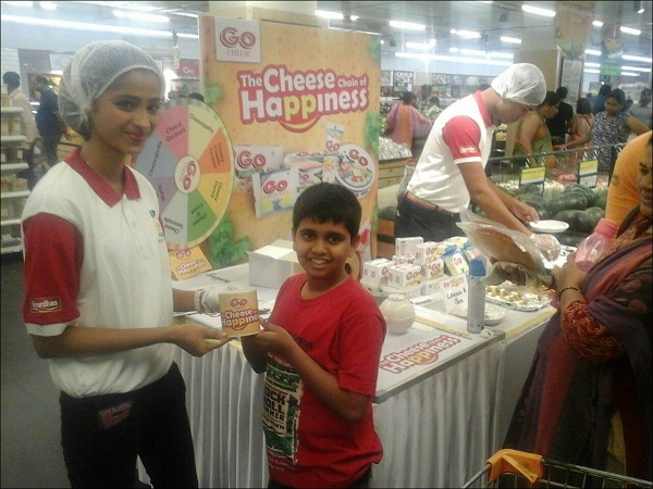 Inextis Events Takes 'The Cheese Chain of Happiness Campaign' by Go Cheese to 4 Cities