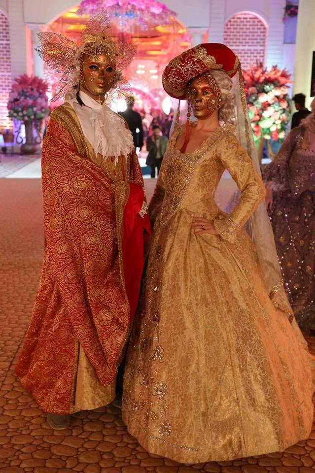 Sunny Leone & Parineeti Chopra Sizzle Venice Inspired Wedding At Umrao By Rashi Entertainment