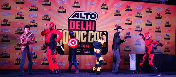 Experiential, Engagement and Entertainment: What Went Down at Alto Delhi Comic Con 2016