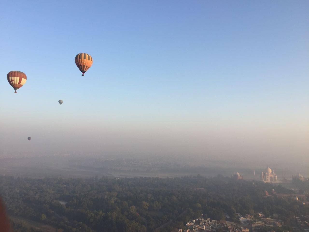 """""""The Experience Of Flying Across The Taj Mahal Is Difficult To Express"""" — Samit Garg"""