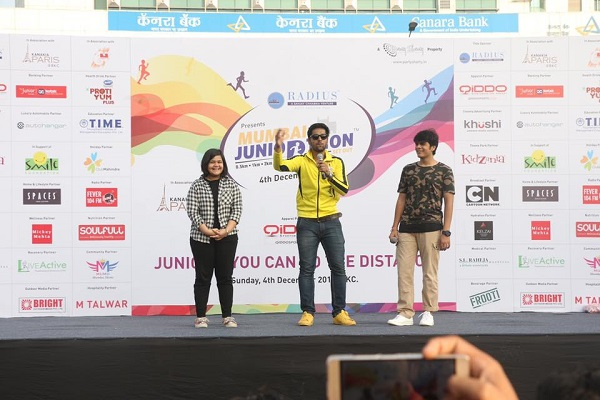 A Host of Partners Supports 2nd Edition of Mumbai Juniorthon 2016, a Fitness Carnival for Kids