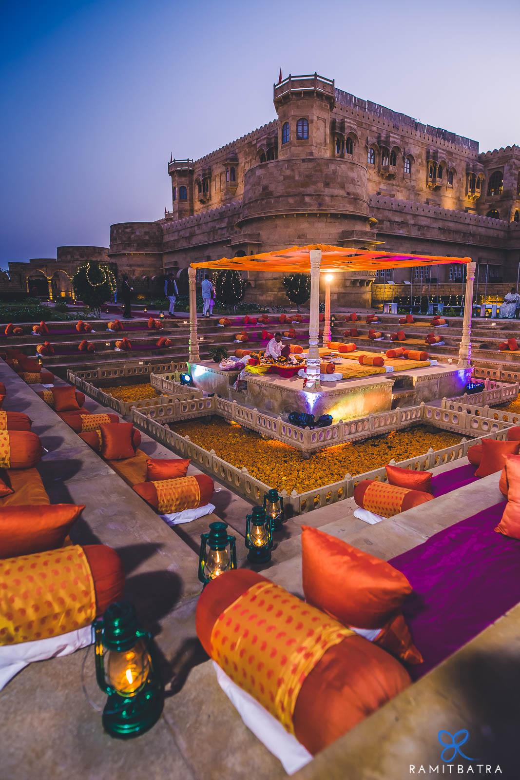 Ramit Batra Captures a Spectacular Wedding at Suryagarh, Jaisalmer!