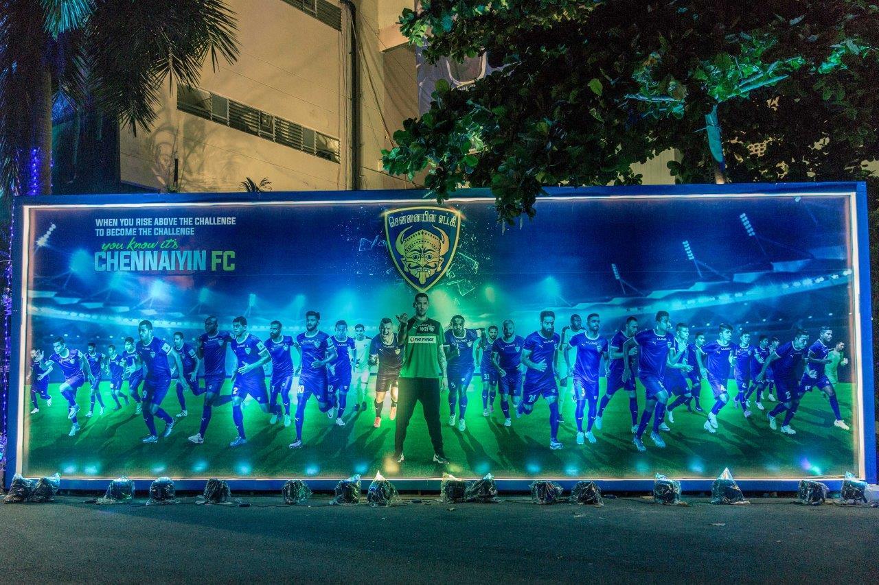 GS Worldwide Entertainment Manages Chennaiyin FC Home Venue Setup