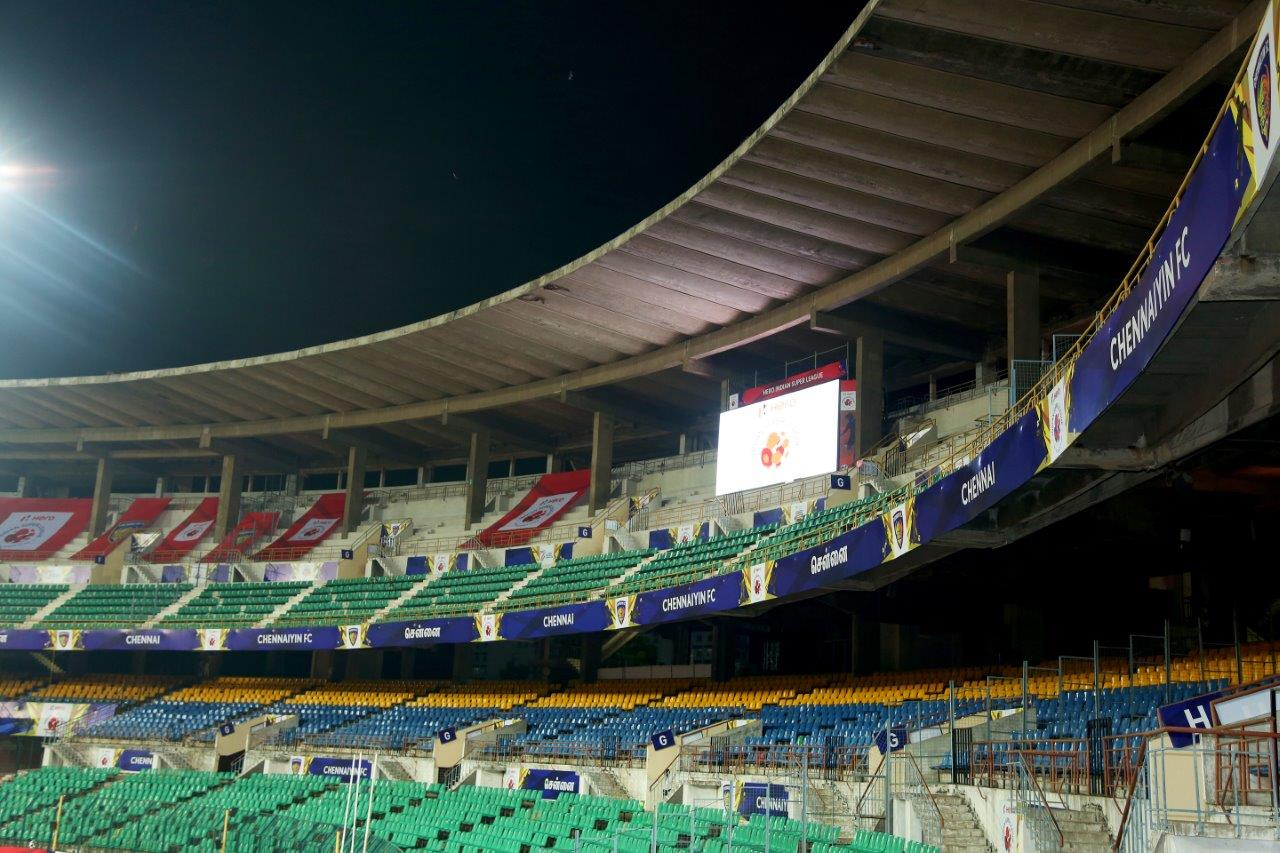 GS Worldwide Entertainment Manages Chennaiyin FC Home Venue Setup
