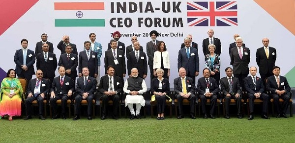 Narendra Modi & Theresa May Address India-UK Tech Summit '16 Produced by Fountainhead MKTG