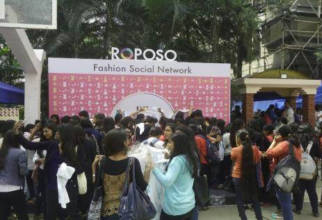 Roposo College Activation By Vibgyor