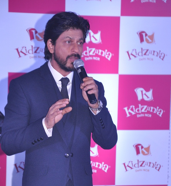 Shah Rukh Khan Announces KidZania Delhi-NCR Launch In May 2016