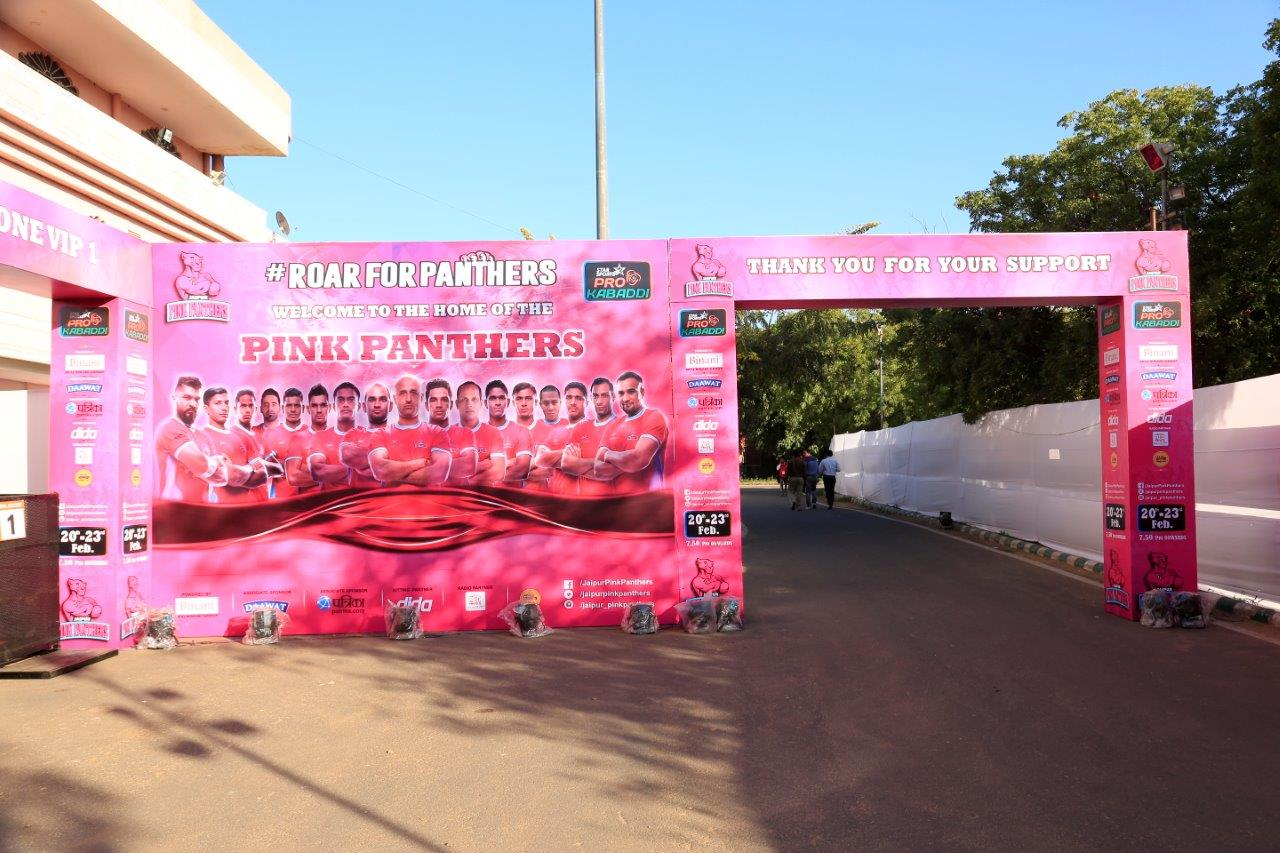 GS Sports Manages Home Matches for Jaipur Pink Panthers