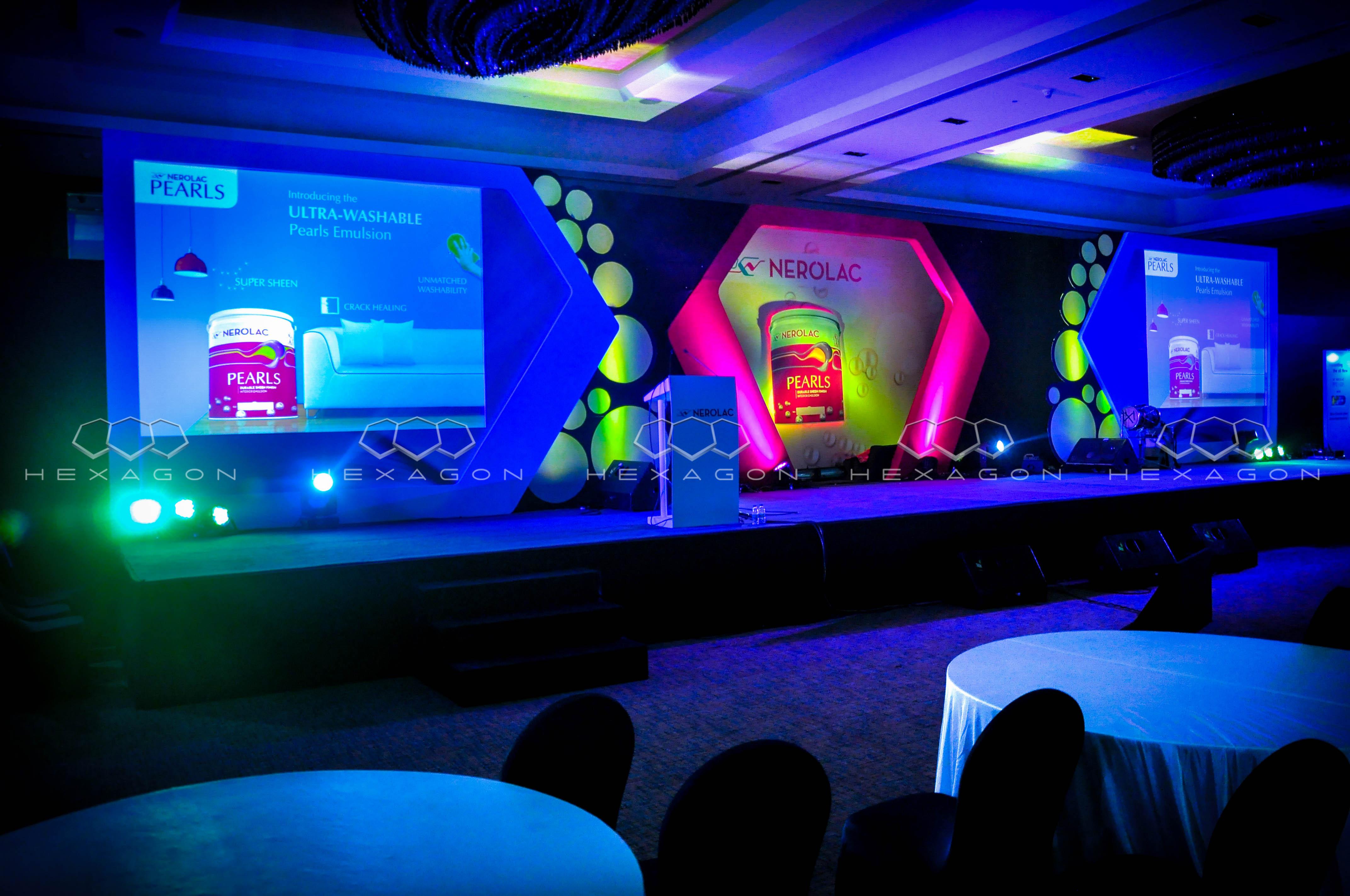 Hexagon Events Manages Kansai Nerolac's 3-City Dealers' Meet With Rituparna, Huma & Lauren