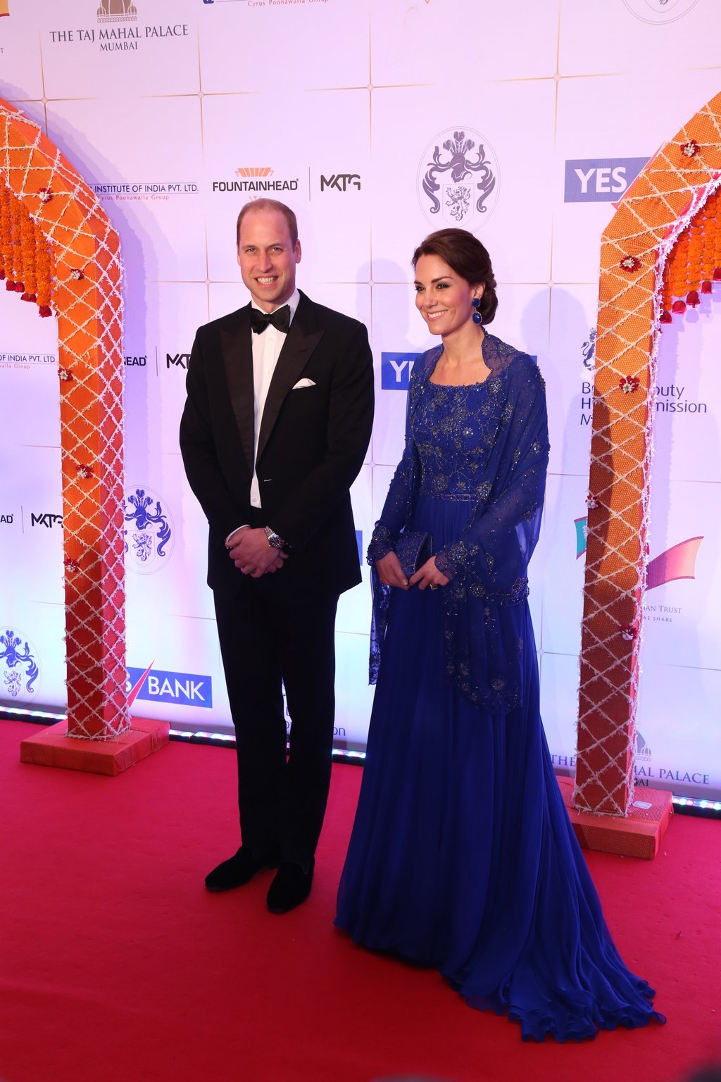 The Charity Gala Reception For Kate & William By Fountainhead MKTG