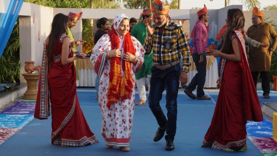 U&I Resources Manages Rajasthani Themed Holi Event for Ambuja Cement Distributors