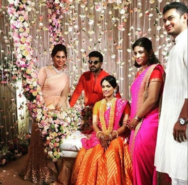 Wedniksha Delivers Telugu Star Chiranjeevi's Daughter's Wedding in Bangalore