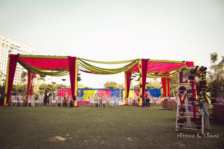 A Chilled Out Sundowner Mehendi By Elusive Dreams