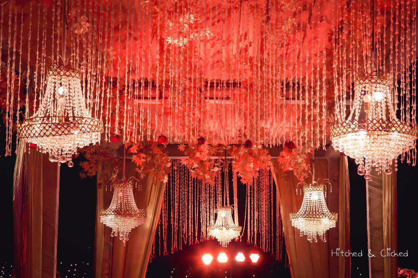 A Fragrant Peach & Gold Wedding @ Amaanta by Elusive Dreams!