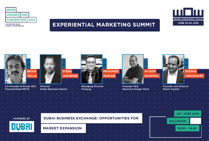 26 Awesome Insights from The Experiential Marketing Summit @ #wowAsia2016