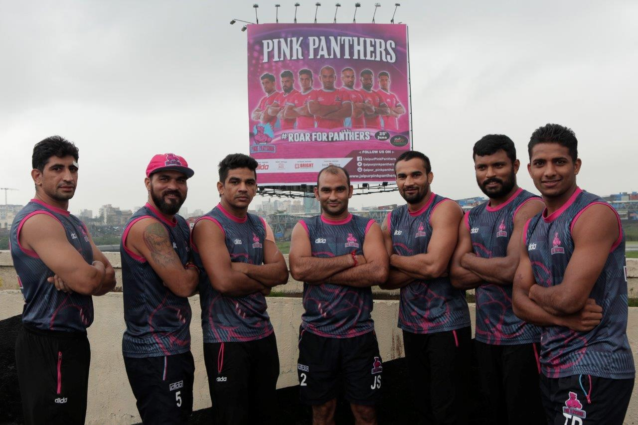 GS Sports Manages the Jaipur Pink Panthers in Season 4 of the Star Sports Pro Kabaddi League