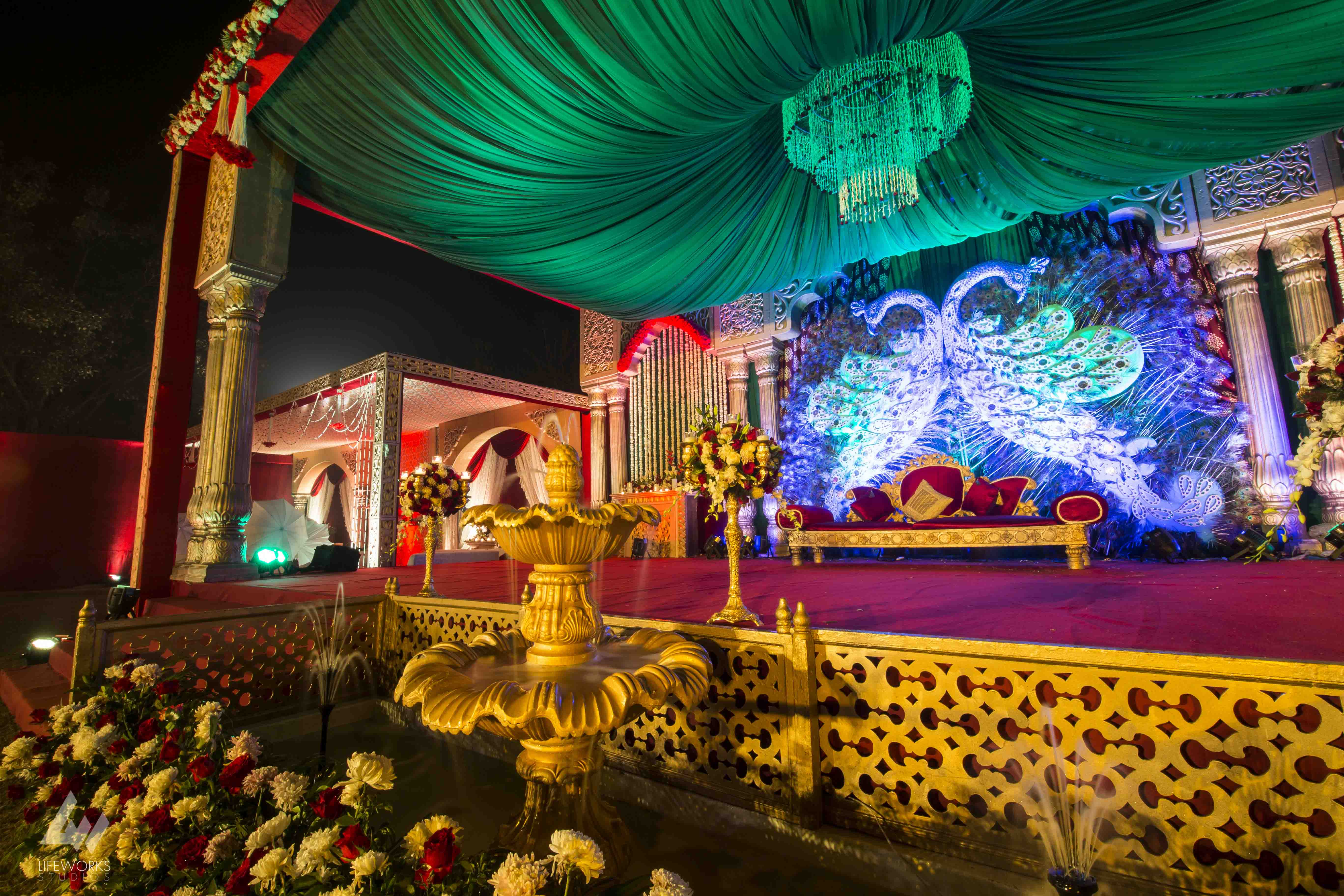 R2S Events & 1ders Events Collaborate to Deliver Big Fat Agra Wedding!