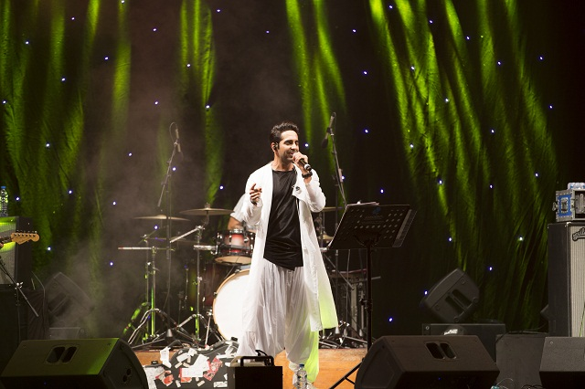 Ayushmann Khurrana & Band in Dubai for First Public Concert; Event by Price Global FZE