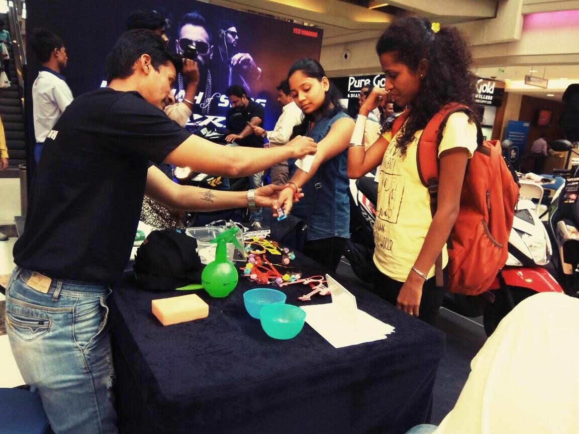 Inextis Activates Yamaha Motors RayZR at Korum Mall, Thane with Singer Badshah