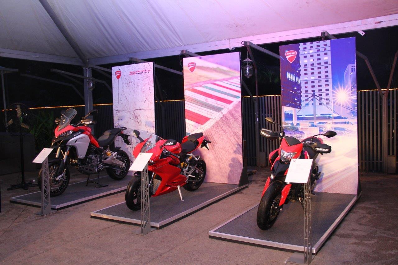 The Think Tank Entertainment Unveils Ducati's Cruiser Bike Segment in Mumbai