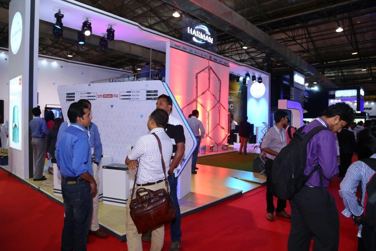 Harman Professional Solutions India Showcases Latest AV Technology at InfoComm India 2016
