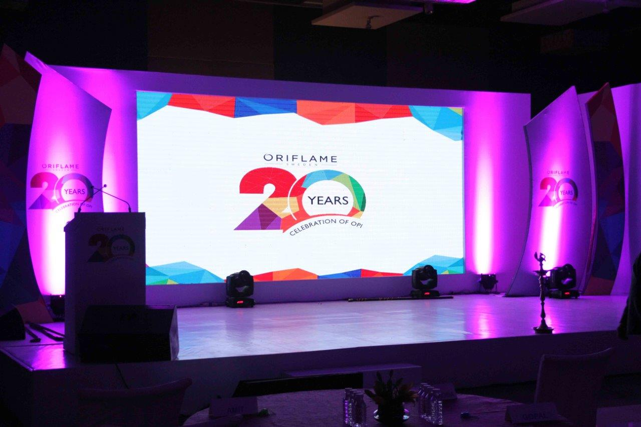 Oriflame Product India Celebrates 20-Year Anniversary with Esquare Eventz